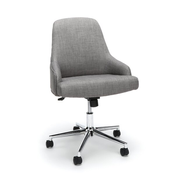 Colebreene Lower Upholstered Home Desk Office Chair by Langley Street