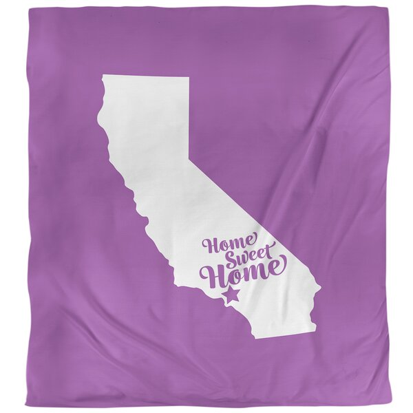 Home Sweet Los Angeles Single Duvet Cover
