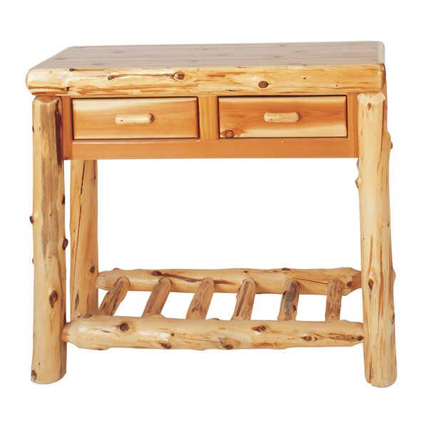 Lytle Two Drawers Console Table By Loon Peak