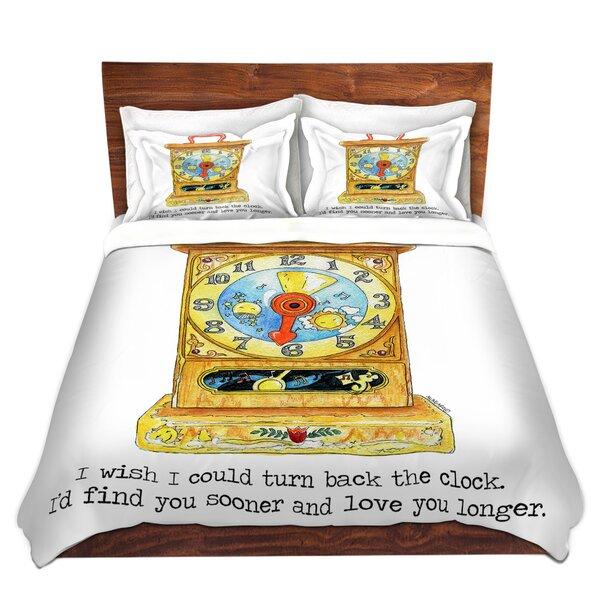 Toys Clock Duvet Cover Set