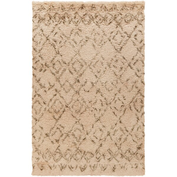 Santos Olive/Salmon Area Rug by Union Rustic