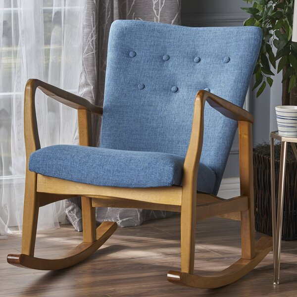 Saulter Fabric Rocking Chair by Brayden Studio