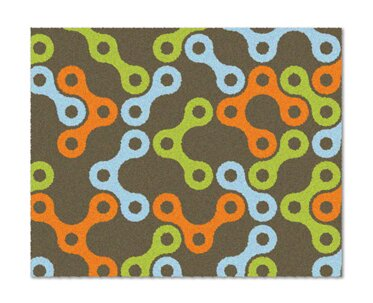 Links Multicolor Rug by notNeutral