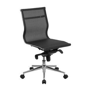 Crayton Mid-Back Armless Swivel Mesh Office Chair by Ebern Designs