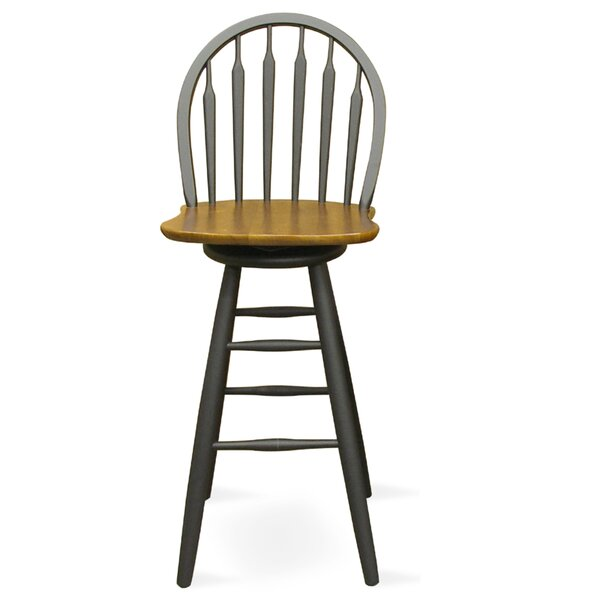 Traynor 30.75 Swivel Bar Stool by Darby Home Co