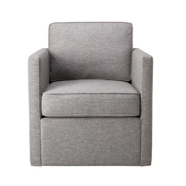 Endres Swivel Armchair by Ebern Designs