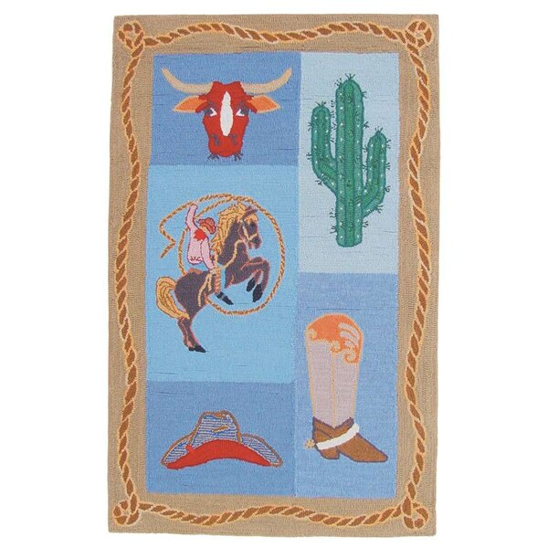 Cowboy Kids Area Rug by Patch Magic