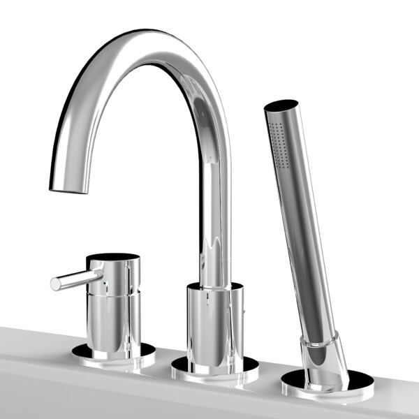 Single Handle Deck Mounted Bath Faucet by A&E Bath and Shower
