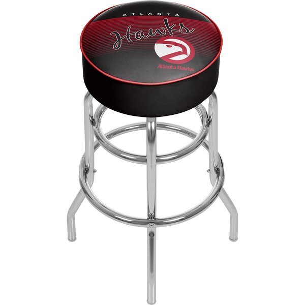 NBA 31 Swivel Bar Stool by Trademark Global