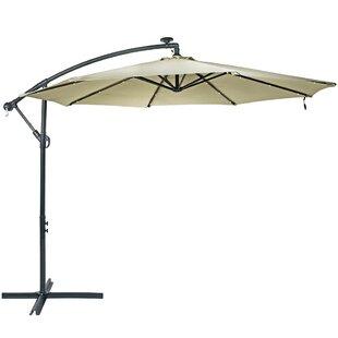 Patio Umbrella Solar Lights   Wayfair