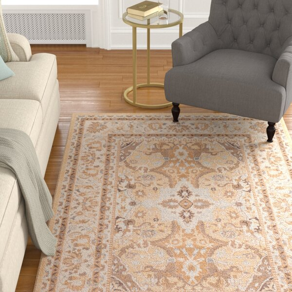 Edicott Cream Area Rug by Astoria Grand
