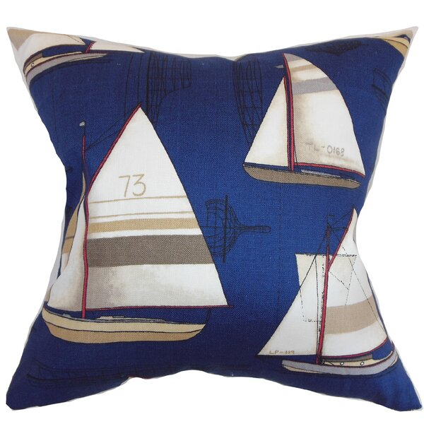 Warren Nautical Floor Pillow by Longshore Tides