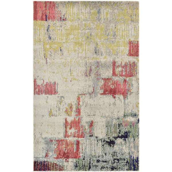 Ned Beige Neutral Area Rug by Ivy Bronx