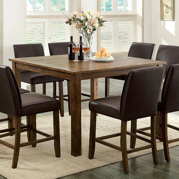Denzel Counter Height Dining Table by Alcott Hill