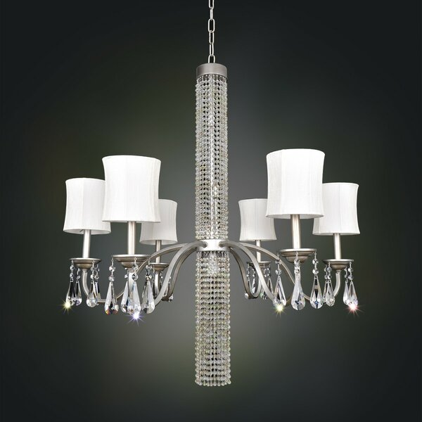 Soriano 3-Light Shaded Chandelier by Allegri by Kalco Lighting