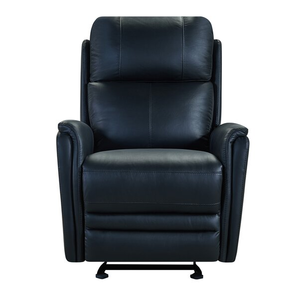 Yoshida Contemporary Leather Power Swivel Recliner [Red Barrel Studio]