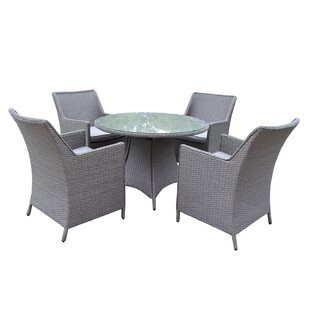 Lemaire 5 Piece Dining Set By Gracie Oaks