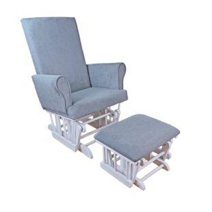 Athena Glider and Ottoman AFG Baby Furniture