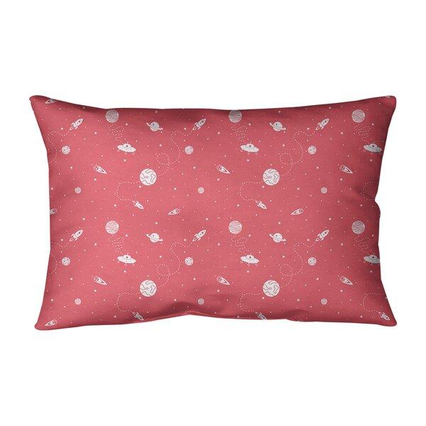Leffel Outer Space Indoor/Outdoor Lumbar Pillow