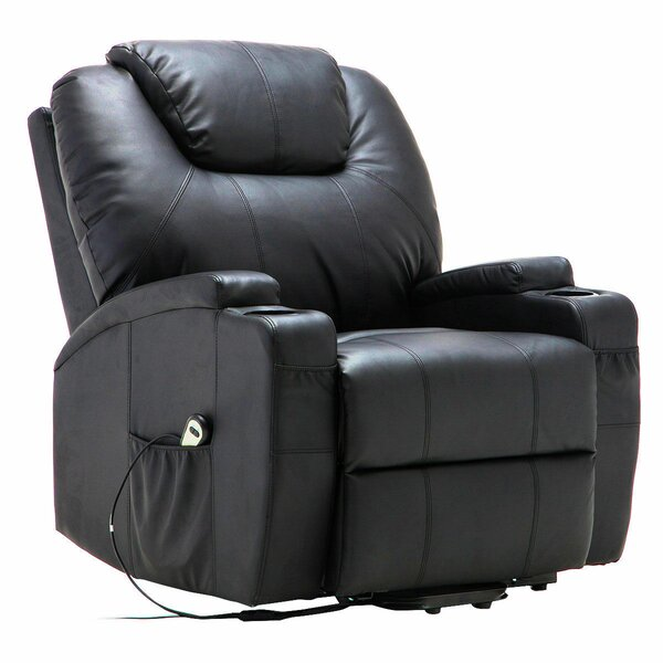 Electric Lift Heated Reclining Full Body Massage Chair by Symple Stuff