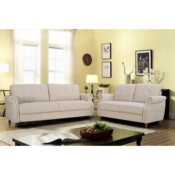 Briscoe 2 Piece Living Room Set by Charlton Home