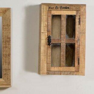 Wall Cabinet With Gl Doors Wayfair Co Uk