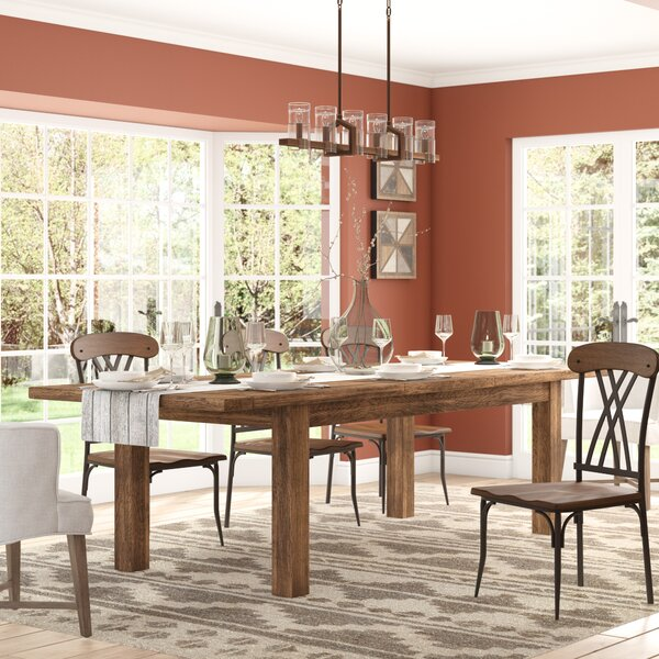 Lyons Dining Table by Loon Peak Loon Peak