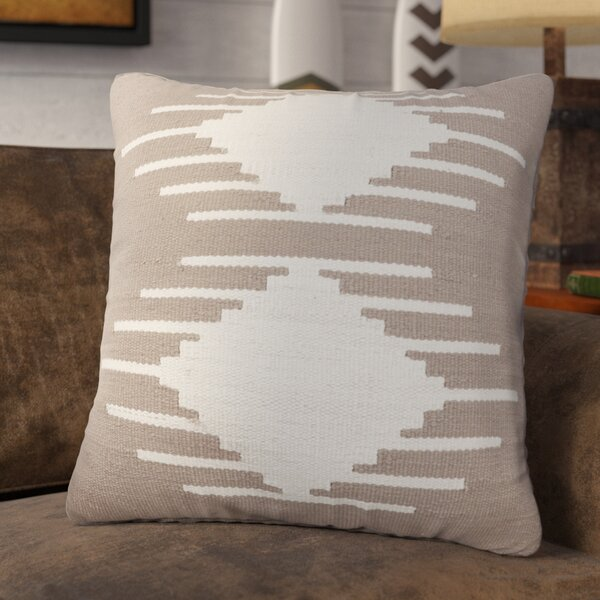 Kilim Cotton Throw Pillow by Loon Peak