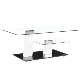 Contemporary Coffee Table Fab Glass and Mirror