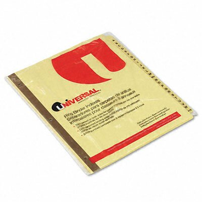 Preprinted Plastic-Coated Tab Dividers, 25/Set by Universal®