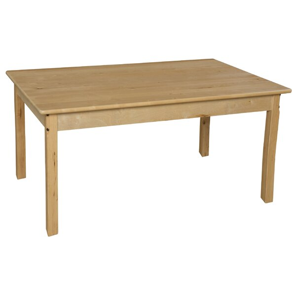 30 x 48 Rectangular Activity Table by Wood Designs