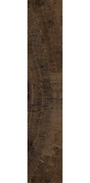Norway 7 x 36 Ceramic Wood Look Tile in Narvik Bronze by Interceramic