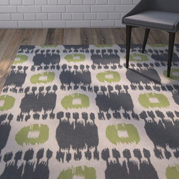 Crisler Grey Area Rug by Wrought Studio