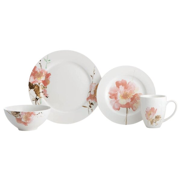 Amore 16 Piece Dinnerware, Service for 4 by Oneida