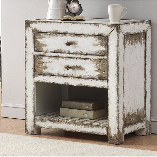 Priscilla End Table with Storage by Rosecliff Heights Rosecliff Heights