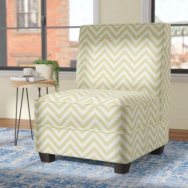 La Mott Slipper Chair by Wrought Studio