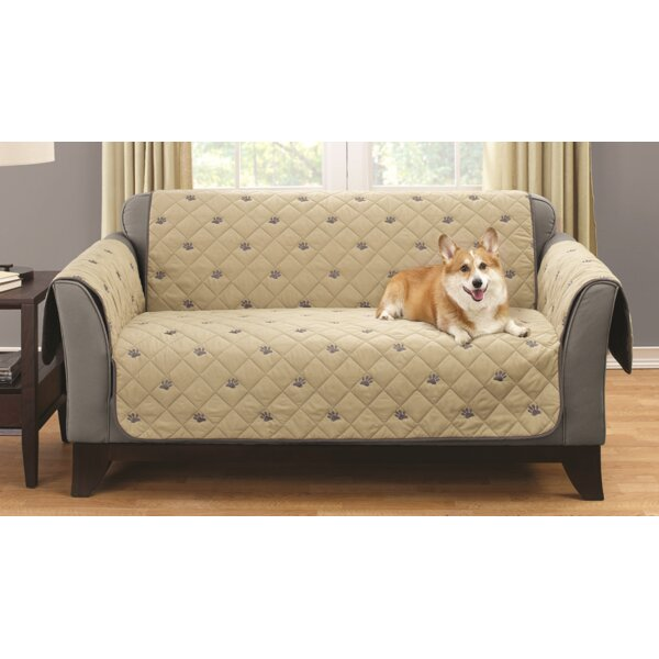 Box Cushion Loveseat Slipcover by South Bay