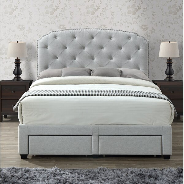 Darcie Upholstered Storage Panel Bed by Rosdorf Park