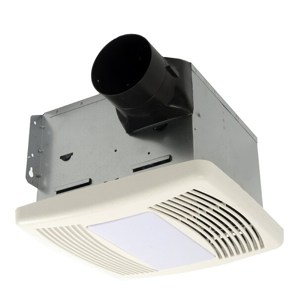 HushTone 150 CFM Energy Star Bathroom Fan With Light by Cyclone