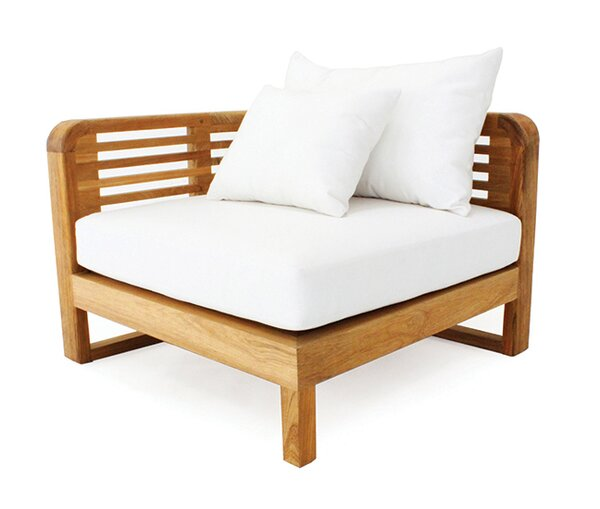 Hamilton Teak Patio chair with Sunbrella Cushion by OASIQ