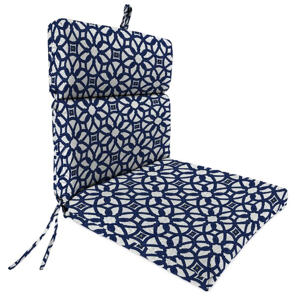 Indoor/Outdoor Sunbrella Dining Chair Cushion by Darby Home Co