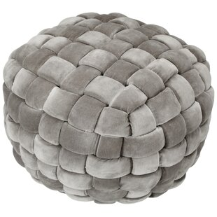 Miraculous Kirt Pouf Charcoal Ocoug Best Dining Table And Chair Ideas Images Ocougorg