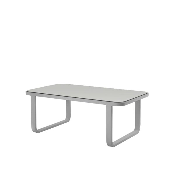 Dickerson Aluminum Coffee Table by Orren Ellis