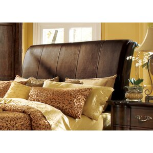 Belmont Queen Upholstered Sleigh Headboard by Bernhardt