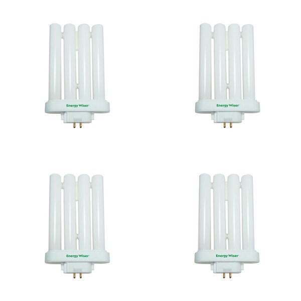 27W GX10Q-4 CFL Light Bulb Frosted (Set of 4) by Bulbrite Industries