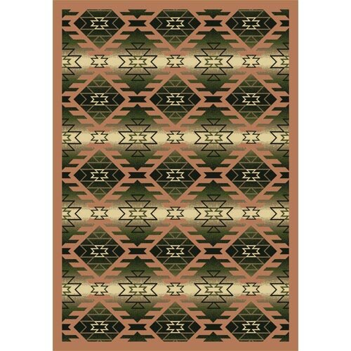 Canyon Ridge Cactus Pink Area Rug by The Conestoga Trading Co.