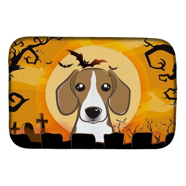 Halloween Beagle Dish Drying Mat by Caroline's Treasures