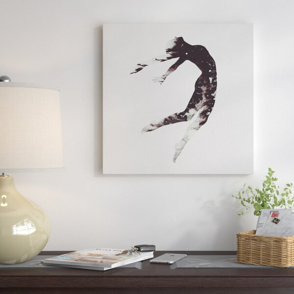 Float Away I Graphic Art on Wrapped Canvas by East Urban Home