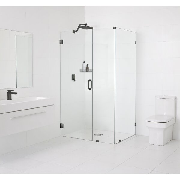 59 x 78 Hinged Frameless Shower Door by Glass Warehouse