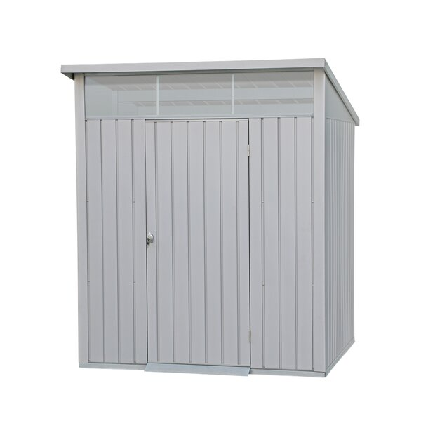 Palladium 6.5 ft. W x 6.4 ft. D Metal Storage Shed by Duramax Building Products